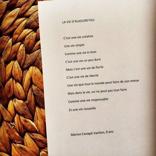 image poème